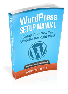 Free WordPress Setup Manual 2015 3D cover - Next Generation Bizz